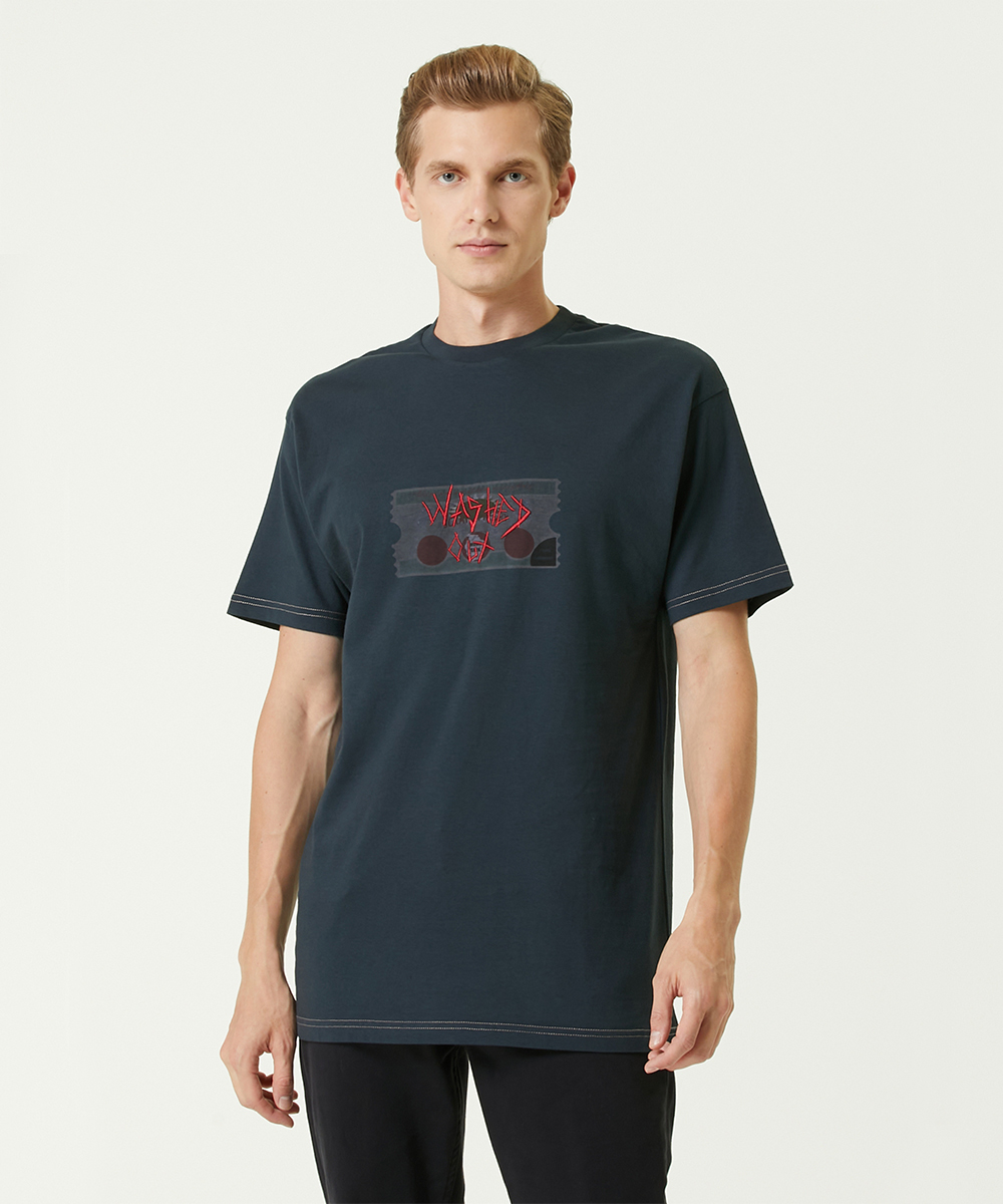 Washed Out Black T-Shirt